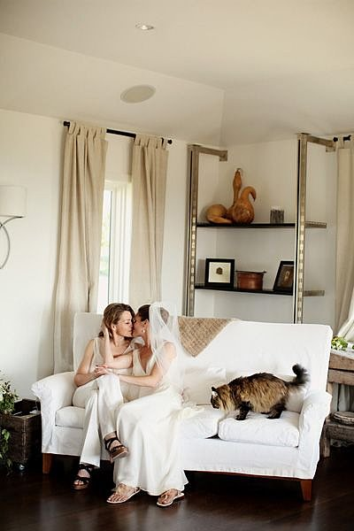 Photo by Michele M. Waite Photography via Equally Wed