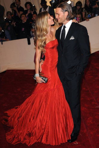 perfeição Gisele bundchen and tom brady met ball